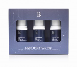 Bloom And Blossom Night-Time Ritual Trio / Zestaw Pokochaj Swój Sen/Mini 120 ml